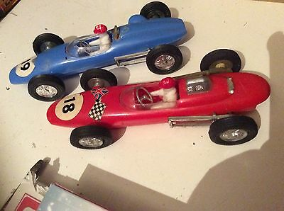 Lucky Toys Formula One / F1 Cars - Friction Drive - Vintage. Hong Kong