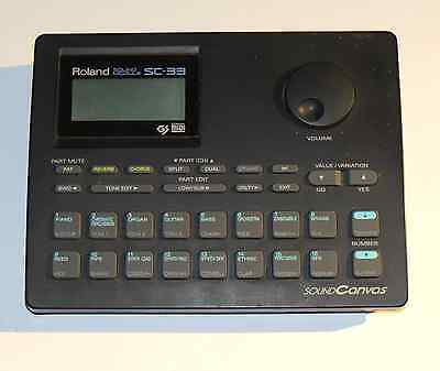 Roland SC-33 Sound Module 1980's Music Synth