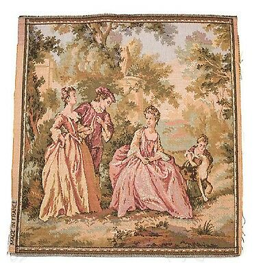 Antique  French and Belgium tapestry made in France and Belgium
