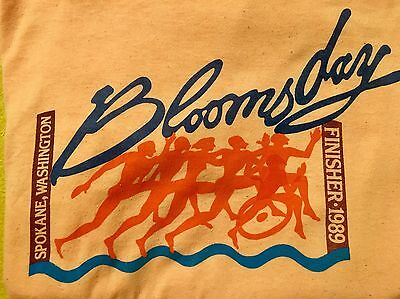 Vintage Nike 1989 Bloomsday Spokane Washington Thin 50/50 T-shirt