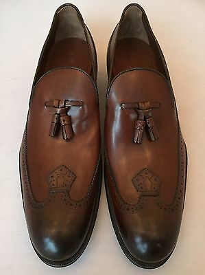 Louis Vuitton Dandy Loafer  Cognac Leather Uk 10 Rrp £630 Brand New Authentic
