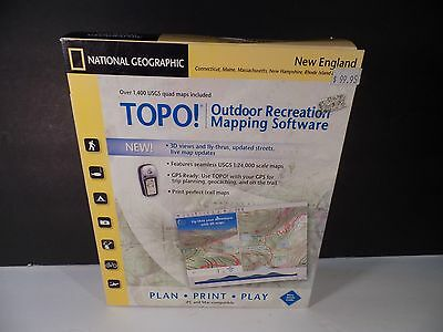 TOPO! National Geographic USGS Topographic Maps - New England