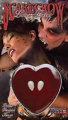 Scarecrow Love Bites Vampire Halloween Costume Cosplay Teeth Fangs LBF100
