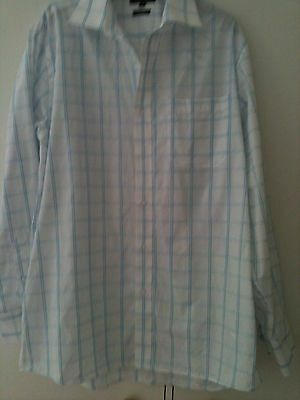 George men's white shirt size 16 inch collar - new