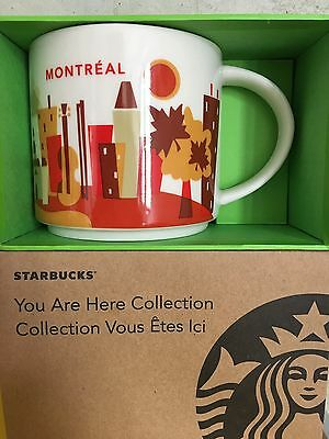 Starbucks * MONTRÉAL * City Mug YOU ARE HERE SERIE XL Tasse NEU