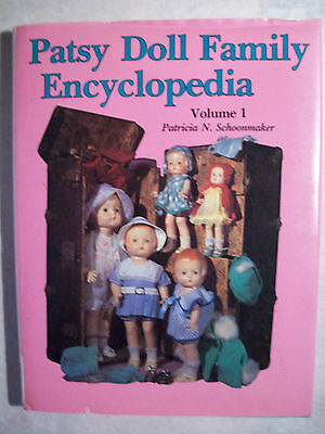 EFFANBEE PATSY Composition DOLLS REFERENCE PICTURE'S BOOK