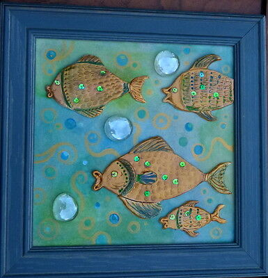 """""""Cute fishes"""" 3D artwork/picture"""