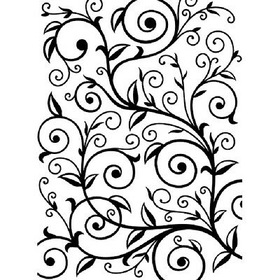 "Embossing Folder Embossing Essentials VINE  PATTERN Folder 4.25"" X 5.75""  DARICE"