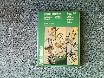 Hillman Hunter  series Autobooks workshop manual