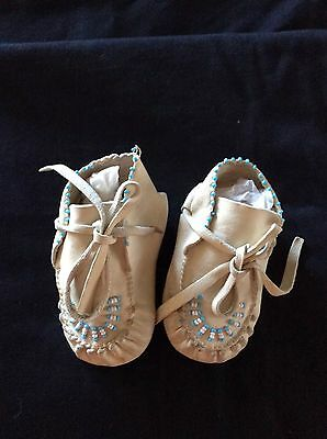Native American vintage baby moccasins