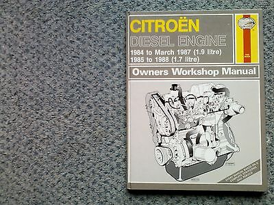 Haynes workshop manual . Citroen diesel engine