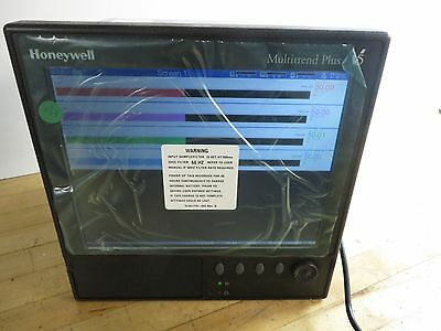 Honeywell Multitrend Plus V5 Paperless Recorder TVMP ~ NEW! With Org Accesories