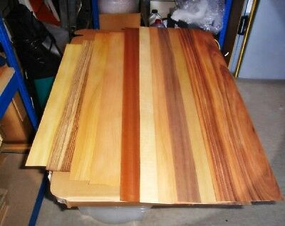 Real Wood Veneer Long Sheets Exotic Selection (No2) For Marquetry Restoration.