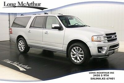 2016 Ford Expedition 4WD LIMITED NAV MOONROOF MSRP $64195 4X4 NAVIGATION MOONROOF LEATHER REMOTE START REAR VIEW CAMERA REVERSE SENSING