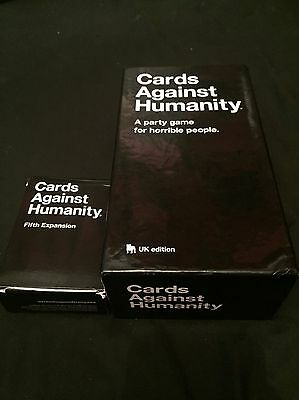 cards against humanity Uk Edition With 5th Expansion Pack