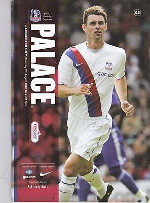 Crystal Palace v Leicester City (npower Championship) 07.08.2010