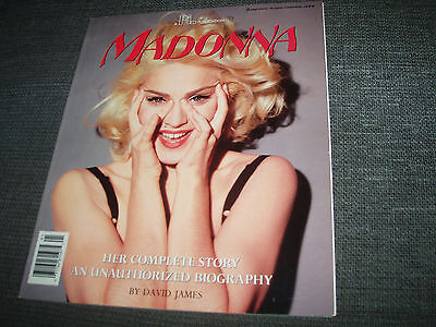 Madonna - Her Complete Story Unauthorized Biography Special BOOK by David James