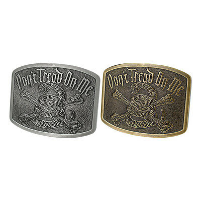 Don't Tread On Me Belt Buckle Collectible Fashion Style