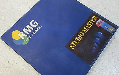 "Rmg Internantional Studio Master 911 10.5"" Nab Metal Reel & Box"