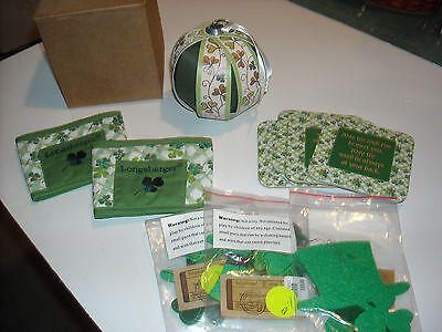 Longaberger St Pattys Day Collection
