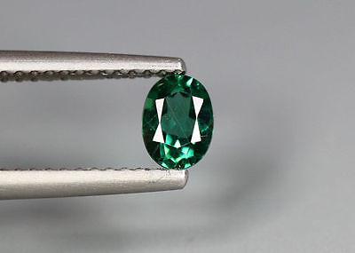0.49 Cts_Simmering Ultra Nice Gemstone_100 % Natural Neon Green Apatite_Brazil