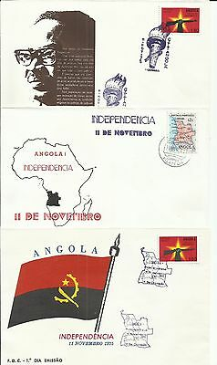 Angola 1975 - Commemorative Covers - Independence 11 November