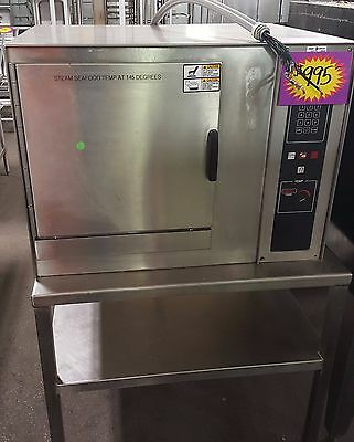 Groen CC10-E Convection Combo Oven Commercial Stainless Steel Stand Mounted