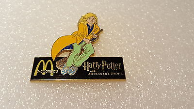 McDONALD - HARRY POTTER & THE SORCERER'S STONE PIN - YELLOW
