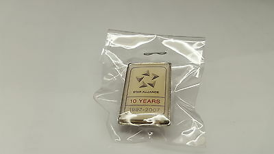 Star Alliance -  10 Years 1997 - 2007 Pin.