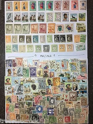 Small Lot of Mint and Used Africa - Portuguese Angola Stamps from Collections