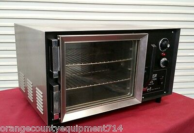 Wisco 608 Super Table Top Mini Convection Oven #4378 Commercial 1/4 Sheet NSF