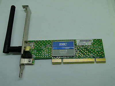 SMC Networks Wireless PCI Adapter EZ Connectg 802.11g Up TO 54 Mbps SMCWPCI-G2