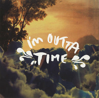 "Oasis I'm Outta Time UK 12"" vinyl single record (Maxi) promo RKID55TP"