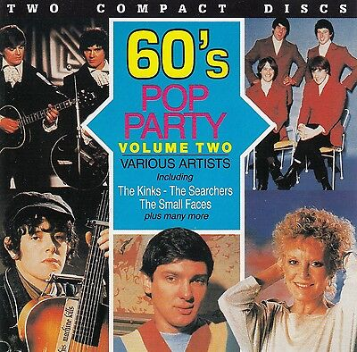 Various Artists - 60's Pop Party Volume 2 (Double) CD