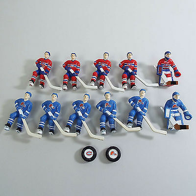 Nhl Nordique Quebec Canadian Montreal Hockey Replacement Figures (C1300)