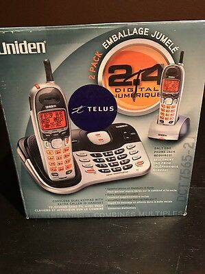 NEW IN BOX! Uniden DCT7565-2 Cordless Phone System with 2 Handsets