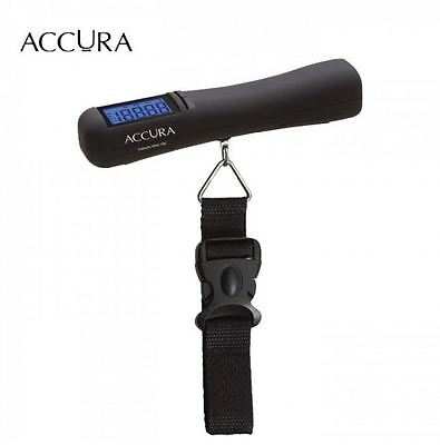 New Accura Stratos Luggage Weight Scale Pocket Digital Hanging Portable Travel