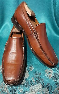 Cole Haan  Brown Leather Slip-on Driving moccasin Shoes Sz:8.5M . MINT CONDITION