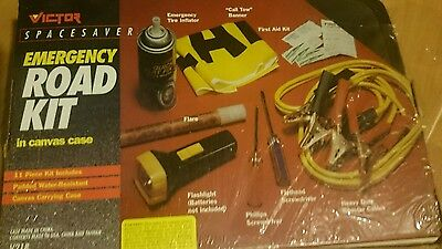 Bell Emergency Road Kit - Brand new and sealed - FREE ship!!