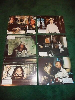 Phenomena (Creepers) - Original Set Of 9 French Lobby Cards- Jennifer Connelly