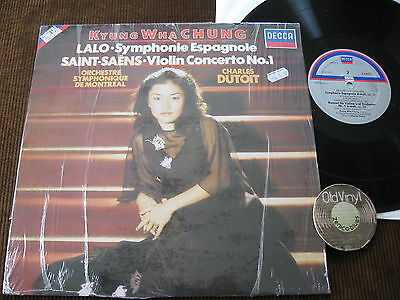 LP Kyung Wha Chung Lalo Symphonie Saint Saens Germany 1981 Still in Shrink | M-