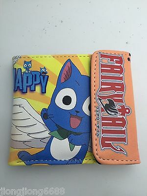New anime Fairy Tail womens mens boys wallets Coin purse Free shipping wholesale