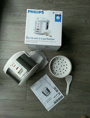 Cuiseur à riz PHILIPS DAILY COLLECTION HD3011, neuf!