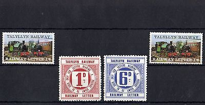 Railway Letter Stamps Talyllyn 1969 Definitives