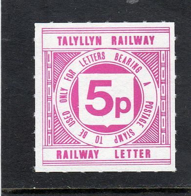 Railway Letter Stamps Talyllyn 1979 Definitive