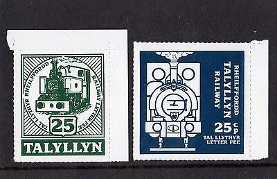 Railway Letter Stamps Talyllyn 1992 Definitive