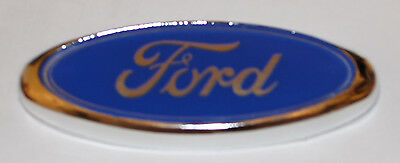 New Front Rear Badge Emblem Logo Ford Fiesta Focus Fusion Mondeo 96Mm X 39Mm