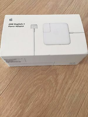 Original Apple MacBook Pro Air Magsafe 2 45W A1466 Charger Power
