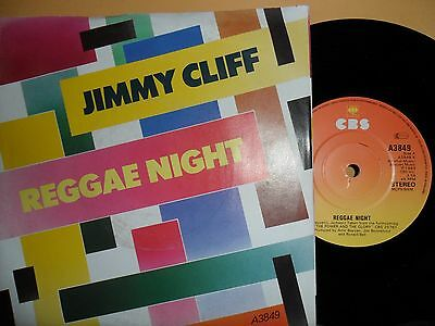 "Jimmy Cliff.reggae Nightcbs.7"" Vinyl Single.45Rpm"