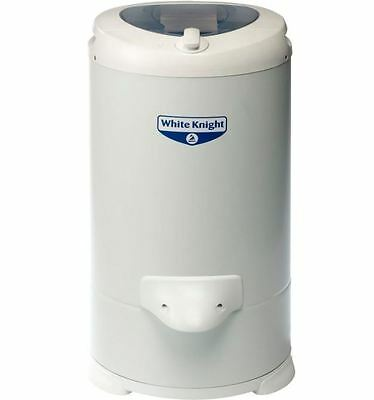 White Knight 28009W Automatic 4.1kg & 2800rpm Compact Spin Dryer In White NEW